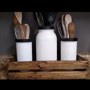 Other - Mason Jar Kitchen Set